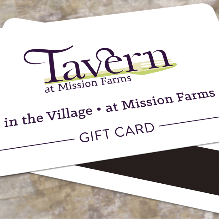 Tavern Gift Cards